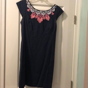 Navy blue Lilly Pulitzer dress